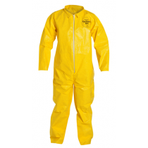 Coverall Zipper Yellow